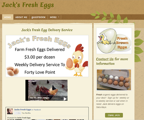 Jacks Fresh Eggs