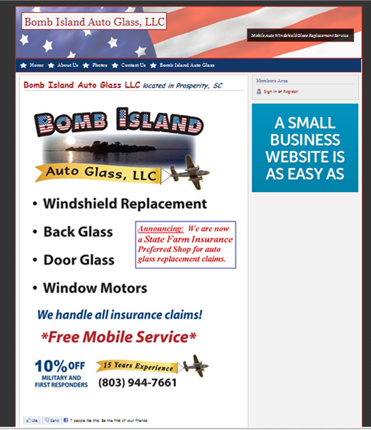 Bomb Island Auto Glass LLC
