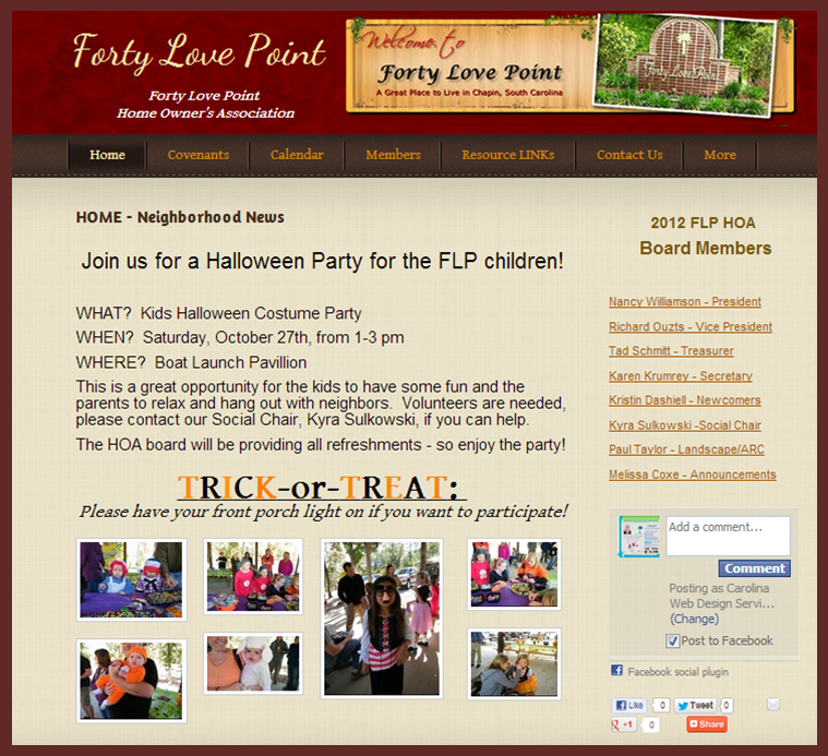 FLP HOA Website