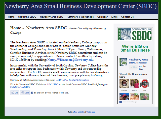 Newberry Area SBDC