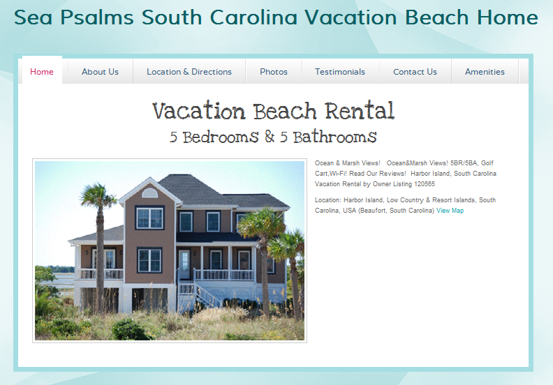 Sea Psalms Ocean Rental