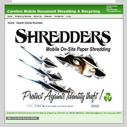 Shredder's Mobile Document Shredding