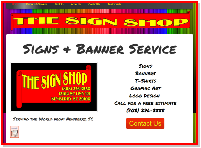The Sign Shop in Newberry, SC