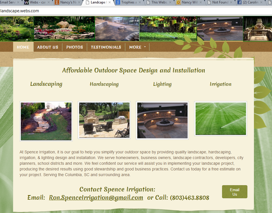 Spence Irrigation & Landscaping Service